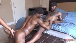black guys make love