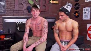 Cage Kafig And Vadim Black Flip Bare (full scene)