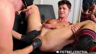 FistingCentral – Devin Franco Gets Stuffed Wrist Deep