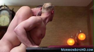 Gay bishop fucks elder
