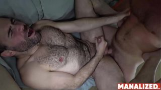 MANALIZED Hunk Brian Bonds Eats Ass And Cums While Fucked