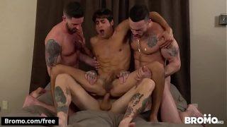 Bukkake Bitch Scene 1 featuring Blaze Burton and Carlos Lindo and Dane Stweart and Dante Stewart and Titus – BROMO