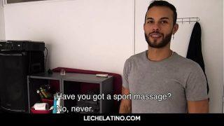 Huge Latin uncut cock sucked pov with foreskin-LECHELATINO.COM