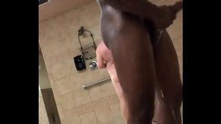 Public nudity showering